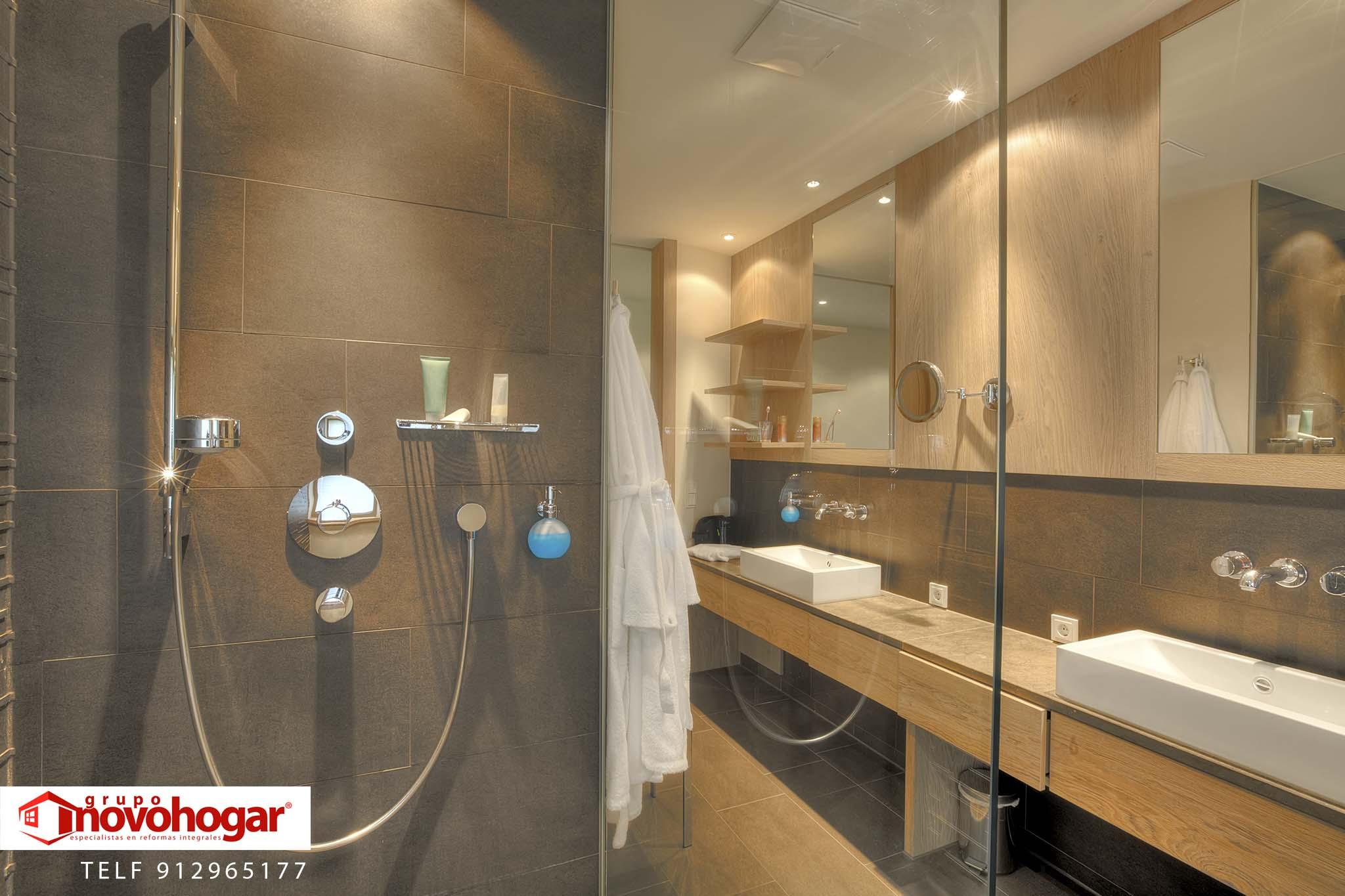 ejemplos baños madrid